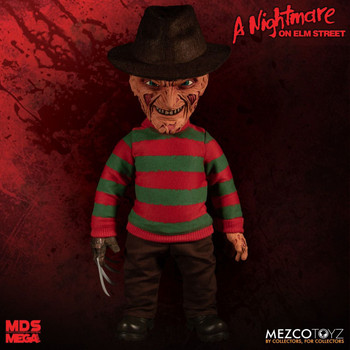 A Nightmare on Elm Street Freddy Krueger Talking Mega-Scale Doll
