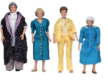 Golden Girls Clothed 8-Inch Action Figure Set