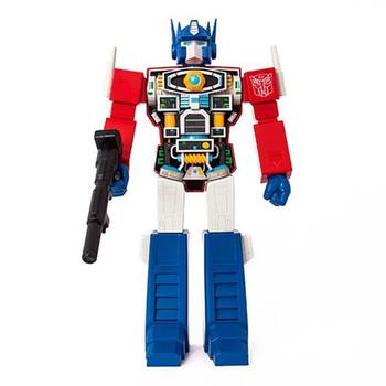 Transformers Optimus Prime Super Cyborg Vinyl Figure