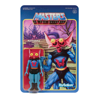Masters of the Universe Mantenna 3 3/4-Inch ReAction Figure