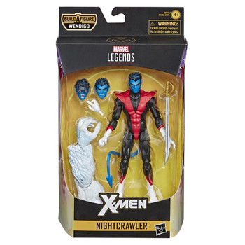 Marvel Legends Series 6-inch Collectible Action Figure Nightcrawler Toy