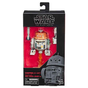 Star Wars The Black Series Star Wars Rebels 6-Inch-Scale Chopper (C1-10P) Figure