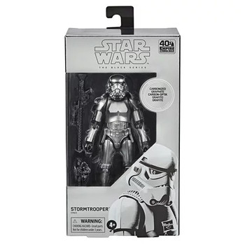 [PRE-ORDER] Star Wars The Black Series Carbonized Stormtrooper 6-Inch Action Figure