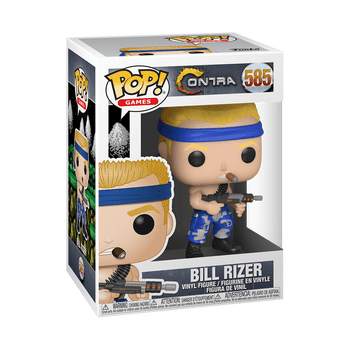 Contra Bill Pop! Vinyl Figure