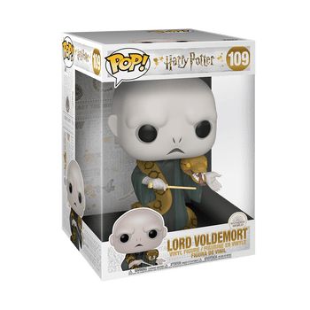 Harry Potter Voldemort and Nagini 10-Inch Pop! Vinyl Figure