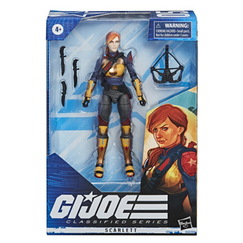 [PRE-ORDER] G.I. Joe Classified Series 6-Inch Scarlett Action Figure