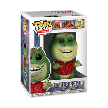 Dinosaurs Earl Sinclair Pop! Vinyl Figure