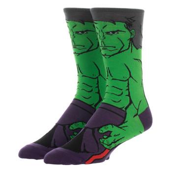 Hulk 360 Men's Character Crew Socks