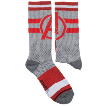 Avengers Mesh Athletic Crew Socks