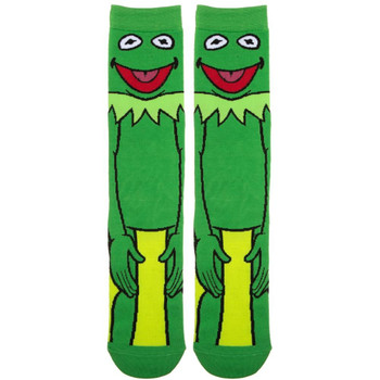The Muppets Kermit 360 Character Crew Socks