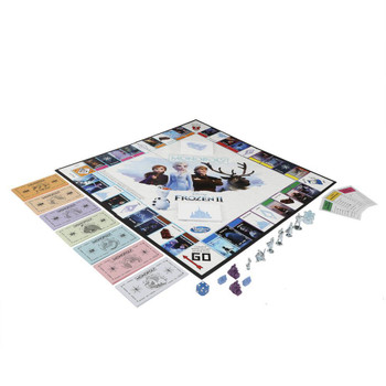 Monopoly Game Disney Frozen 2 Edition Board Game