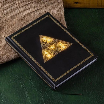 Triforce Light Up Notebook