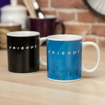 Friends They Dont Know Heat Change Mug