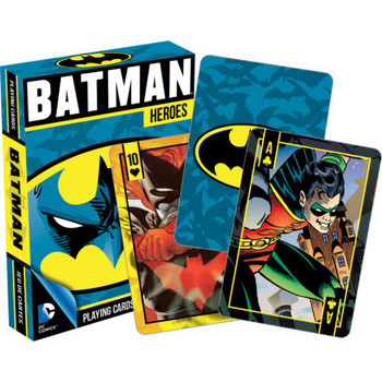 DC Batman Heroes Playing Cards