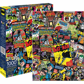 Batman DC Comics Collage 1,000-Piece Puzzle