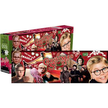 A Christmas Story 1,000-Piece Slim Puzzle