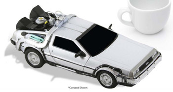Back to the Future Time Vehicle 6-Inch Die-Cast Metal Vehicle