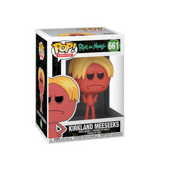 Rick and Morty Kirkland Meeseeks Pop! Vinyl Figure