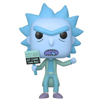 Rick and Morty Hologram Rick Clone Pop! Vinyl Figure