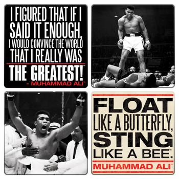 Muhammad Ali Coaster 4-Pack