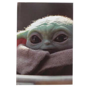 Star Wars Mandalorian The Child Hardcover Journal
