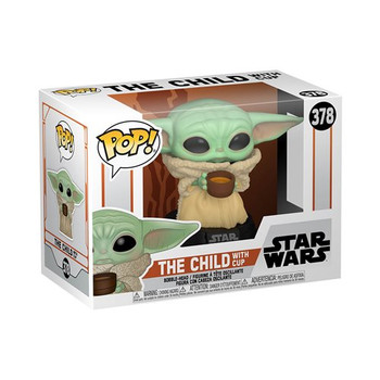 Star Wars: The Mandalorian The Child with Cup Pop! Vinyl Figure