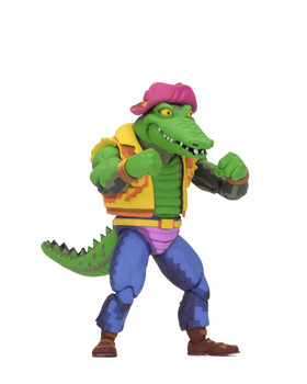 Teenage Mutant Ninja Turtles Turtles in Time Series 2 Leatherhead 7-Inch Action Figure