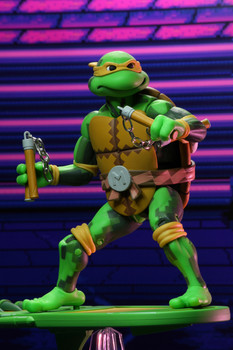 Teenage Mutant Ninja Turtles Turtles in Time Series 2 Michelangelo 7-Inch Action Figure