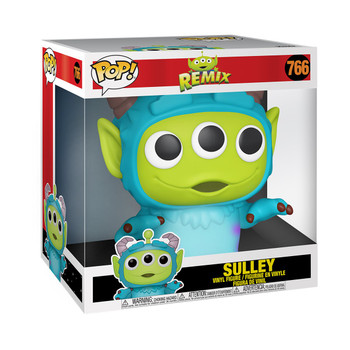 Pixar 25th Anniversary Alien as Sully 10-Inch Pop! Vinyl Figure