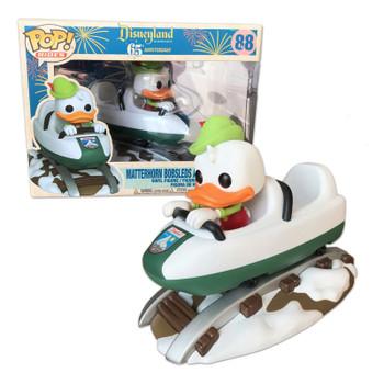 Matterhorn Bobsled with Donald Duck Pop! Rides Vinyl Figure