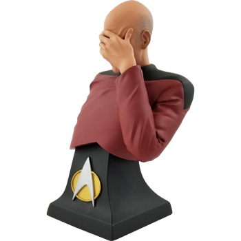 Star Trek The Next Generation Picard Facepalm Limited Edition Bust - San Diego Comic-Con 2020 Previews Exclusive
