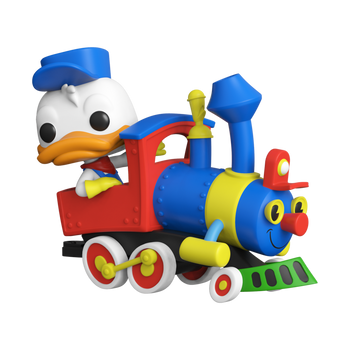 Funko Pop! Disney 65th Donald Duck On The Casey Jr. Circus Train Attraction