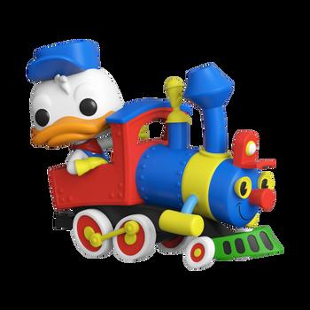 Funko Pop! Disney 65th Donald Duck On The Casey Jr. Circus Train Attraction