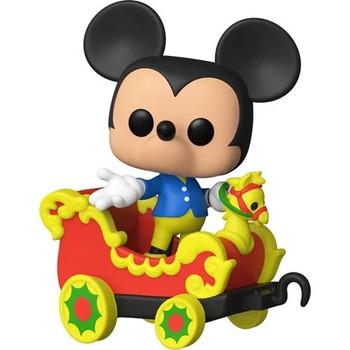 Funko Disney 65th Disneyland Casey Jr. Car 3 with Mickey Pop! Train