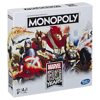 Monopoly Marvel 80th Anniversary Edition Game