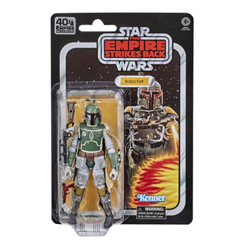 Star Wars The Black Series Empire Strikes Back 40th Anniversary 6-Inch Boba Fett Action Figure