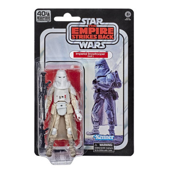 Star Wars The Black Series Empire Strikes Back 40th Anniversary 6-Inch Snowtrooper Action Figure