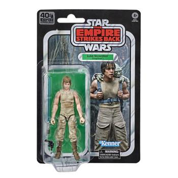 Star Wars The Black Series Empire Strikes Back 40th Anniversary 6-Inch Luke Skywalker Dagobah Action Figure