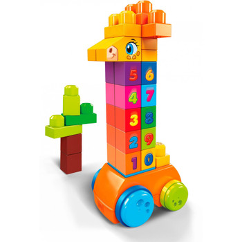 Mega Bloks First Builders Count & Bounce Giraffe