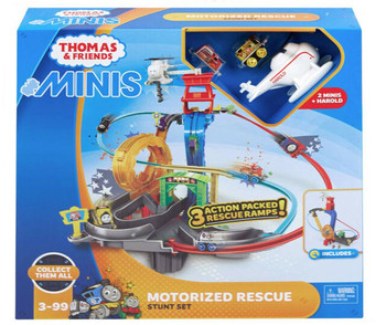 Thomas & Friends Minis Motorized Rescue Stunt Playset