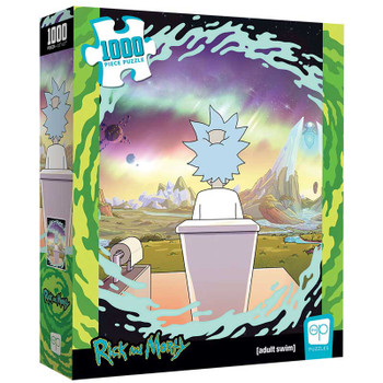 "Rick and Morty ""Shy Pooper"" 1000 Piece Puzzle"