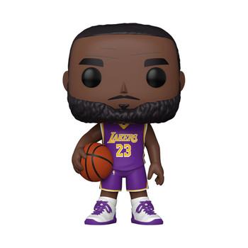 Funko NBA Lakers LeBron James (Purple Jersey) 10-Inch Pop! Vinyl Figure