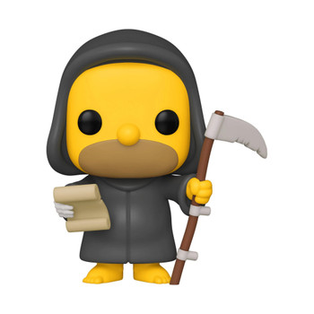 Funko The Simpsons Grim Reaper Homer Pop! Vinyl Figure