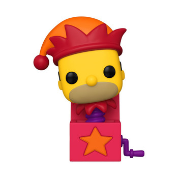 Funko The Simpsons Homer Jack-in-the-Box Pop! Vinyl Figure