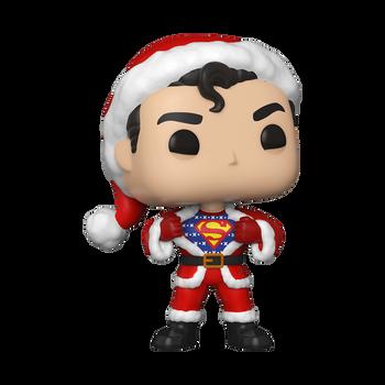 Funko Superman In Holiday Sweater Pop! Vinyl Figure