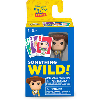 Funko Toy Story Something Wild Pop! Card Game - English / French Edition