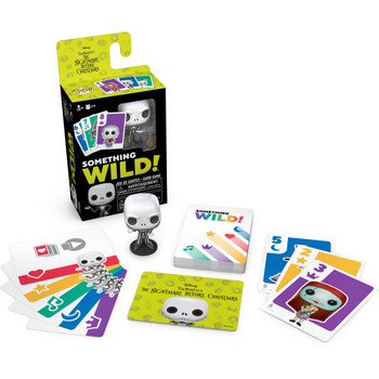 Funko Nightmare Before Christmas Something Wild Pop! Card Game - English / French Edition