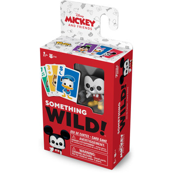 Funko Mickey and Friends Something Wild Pop! Card Game - English / French Edition