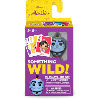 Funko Aladdin Something Wild Pop! Card Game - English / French Edition