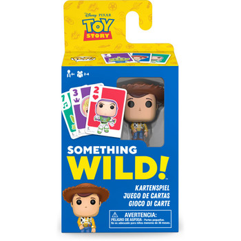 Funko Toy Story Something Wild Pop! Card Game - Deutsch / Espanol / Italiano Edition